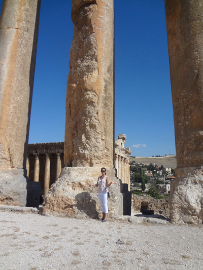 2012 SILLC Global Award Recipient Raquel Carranza in Lebanon